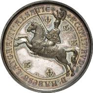 Friedrich Aberli (1800-1872), Medaille auf das Jubiläum