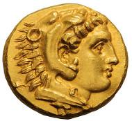 17: Mysia, Pergamum. Stater, c. 334 BC. SNG Paris 1557. Mint State. Estimate: $63,500.