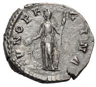 230: Manlia Scantilla. Denarius, 193 AD, Rome. RIC-7A. Toned EF. Estimate: $8,850.