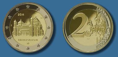 Die neue 2-Euro-Gedenkmünze