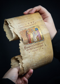 Prayer Scroll of Princess Eudokia. © John James.