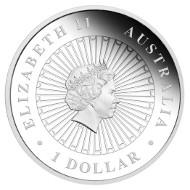 Australia / 1 AUD / 1oz 999 silver / 31.135g / 36.60mm / Design: Aleysha Howarth / Mintage: 8,000.