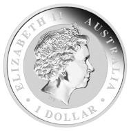 Australia / 1 AUD / 1oz 999 silver / 31.135g / 40.60mm / Design: Michael Guilfoyle / Mintage: Unlimited.