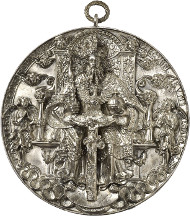 Am 13. März 2014 kommt in Auktion 247 des Osnabrücker Auktionshaus eine der schönsten deutschen Renaissancemedaillen zur Versteigerung. Die prachtvolle Silbergussmedaille von Hans Reinhart ist mit 40.000 Euro geschätzt.