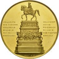 Diese Medaille können Sie am Künker-Stand besichtigen. Foto: Künker.