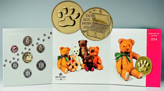 The new 2014 Coin Set for Children comprises a special medal along with a set of all denominations of the circulation coins minted in 2014.