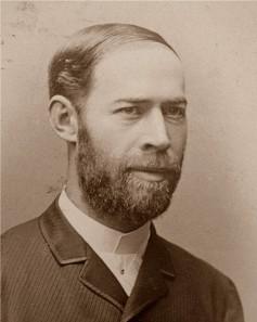 Heinrich Hertz, um 1890.
