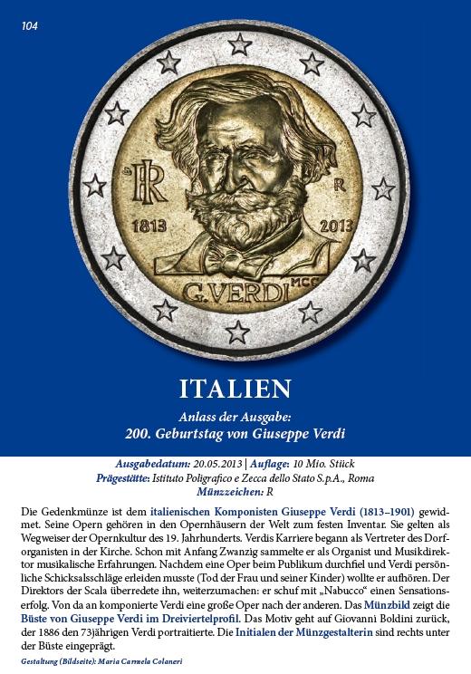 Lesebeispiel aus: Die 2-Euro-Gedenkmünzen Europas, 2014, 3. Auflage. Broschüre, DIN A5, 120 Seiten, farbige Abbildungen. ISBN 978-3-00-044679-5. 7,90 Euro.