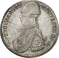 Ferdinand von Hompesch, 71st Grand Master, 1797-1798, 30 tari 1798, Valletta. From auction sale Künker 246 (11/12 March 2014), 2973. Estimate: 300 euros.