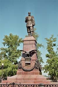 Denkmal des Zaren Alexander III.