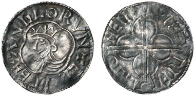 1480: GROSSBRITANNIEN. Cnut. Penny, 1017-1023. Spink 1157. vz-. Zuschlag: 2.000 Euro, Ausruf: 300 Euro.