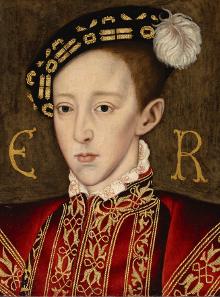 Portrait of Edward VI, around 1550.
