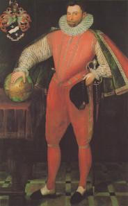 Sir Francis Drake, later than 1580.
