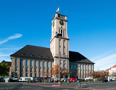 Rathaus Schöneberg im Jahr 2012. Dirk Ingo Franke / http://creativecommons.org/licenses/by/3.0/deed.en