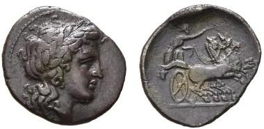 2: Greeks. Campania, Neapolis. Triobol, circa 300-275. SNG Cop. 471. Good very fine. Starting bid: £250.