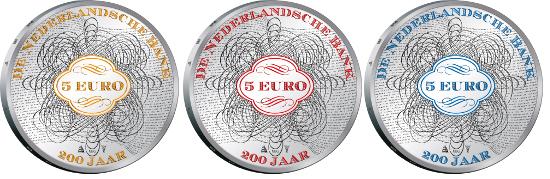 Netherlands/ 5 EUR/ Silver 925/ 15.5 g/ 33 mm.