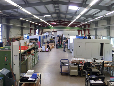 Lang's production hall. Photo: UK.