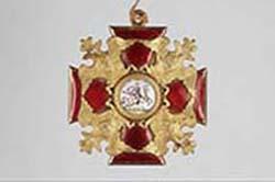 Kaiserreich Russland, Kleinod des Sankt Alexander Newskij-Ordens. Foto: Werner Reiter / Joanneum.