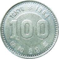 The 100-yen commemorative coin. Source: Japan Mint.