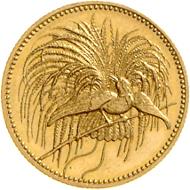 478: Deutsch Neuguinea. 10 Neuguinea Mark, 1895 A. Rufpreis: 15.000 Euro. Foto: Dorotheum.