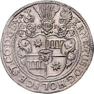 Los 1716: Holstein-Schauenburg, Taler 1610 (Oldendorf). Schätzpreis: 2.250 Euro.