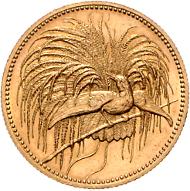 Los 2694: Deutsch Neuguinea, 20 Mark 1895 Paradiesvogel (J.709). Schätzpreis: 36.000 Euro.