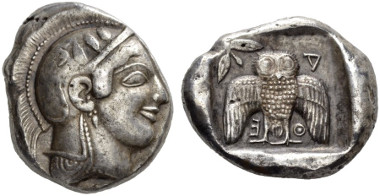 Lot 45: Greek, Athens, Decadrachm. Estimate: CHF 90,000.