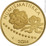 Finland / 100 euros / .917 gold / 5.65 g / 22 mm / Design: Hannu Veijalainen / Mintage: 6,000.