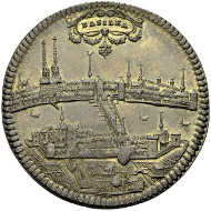 Nr. 942 BASEL. Taler o.J. (um 1710), Stempel von J. de Beyer. Ewig 191. Vorzüglich-Stempelglanz. 1.500 Euro.