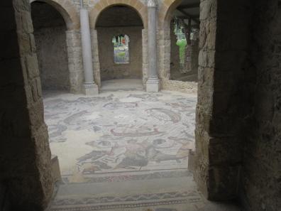 The frigidarium in the thermal baths. Photo: KW.