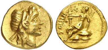 Morgantina. Eunos, 135-132. Stater. From auction sale Gorny & Mosch 207 (2012), 61.