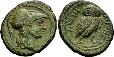 Tauromenion. Bronze nach 211. Aus Auktion Peus Nachf. 412 (2014), 53.