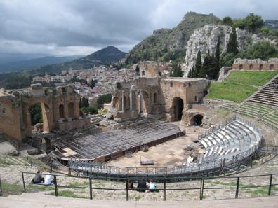 Das Theater von Taormina. Foto: KW.