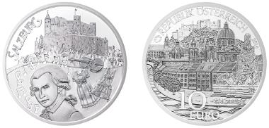 Austria/ 10 Euros/ Silver 925/ 17.3 g/ 32 mm/ Design: Helmut Andexlinger, Melisa Bejic.