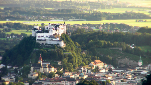 Castle Hohensalzburg. Source: Joergsam/ http://creativecommons.org/licenses/by-sa/3.0/deed.en.