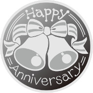 Anniversary Coin Set pure silver medal.