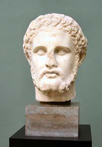 Porträt Philipps II. von Makedonien. Ny Carlsberg Glyptothek. Foto: Gunnar Bach Pedersen / Wikipedia.