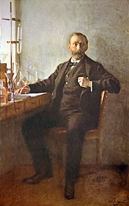 Alfred Nobel. Painting by Emil Östermann. Source: Wikicommons.