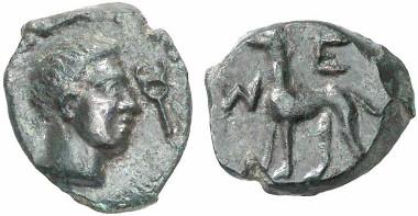 Segesta. Aes, nach 262. Aus Auktion Künker 133 (2007), 7235.