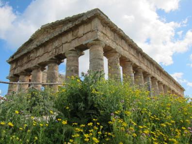 Tempel von Segesta. Foto: KW.
