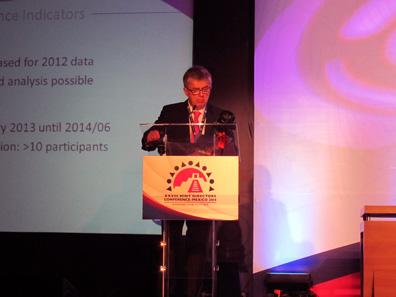 Peter Huber leitete die Morgensession des Technischen Komitees am Dienstag. Foto: UK.