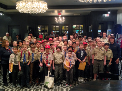 Boy Scout merit badge workshop taught by Patti Finner, former, American Numismatic Association vice president. Photo: CKShows.com