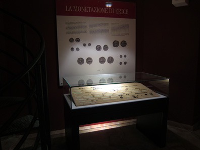 The museum also reserved a spot for numismatics. Photo: KW.