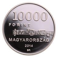 Hungary / HUF 2,000 / 37 mm / 23.7 g / Designer: Szlávics László Jr. / Mintage: 5,000.