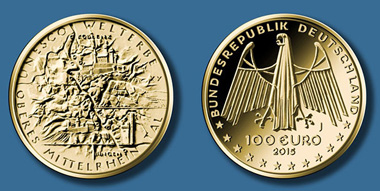 100-Euro-Goldmünze 2015