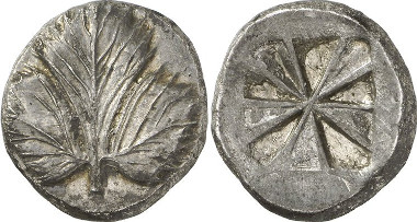 Selinus. Didrachm, 480-466. From Gorny & Mosch auction sale 195 (2011), 55.