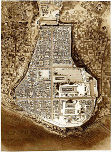 City map of Selinus (1910). Source: University of Heidelberg / Wikipedia.