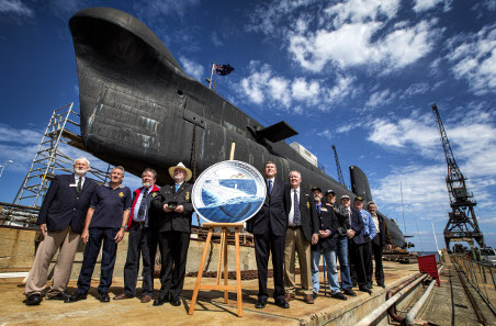 Launch Celebrations at HMAS Ovens in Fremantle. The Oberon class Submarine HMAS Ovens is an authentic Cold War-era vessel situated in Fremantle, near Perth. The submarine is on temporary exhibition by the Western Australian Museum.