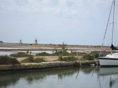 The salterns of Trapani. Photo: KW.
