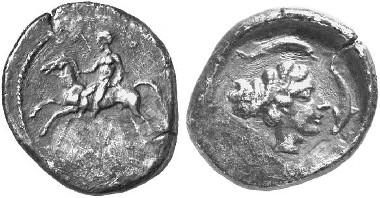 Motya. Didrachm, around 425. From Künker auction sale 97 (2005), 241.